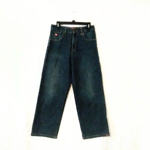 Mens Ecko Unlimited Chainstitch Baggy Jeans